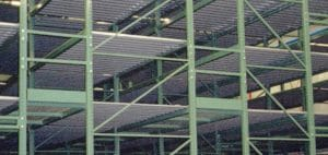 Pallet Racks Using Vertical Space